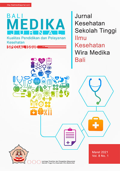View Vol. 8 No. 1 (2021): Special Issue Bali Medika Jurnal Vol 8 No 1 Maret 2021