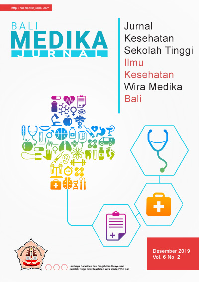 View Vol. 6 No. 2 (2019): Bali Medika Jurnal Vol 6 No 2 Desember 2019